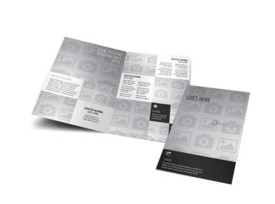 Generic Bi-Fold Brochure Template 3018