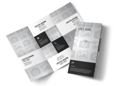 Generic Tri-Fold Brochure Template 3020