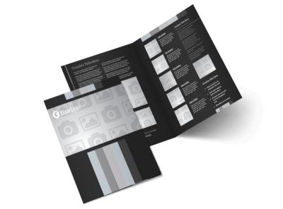 Generic Bi-Fold Brochure Template 3023