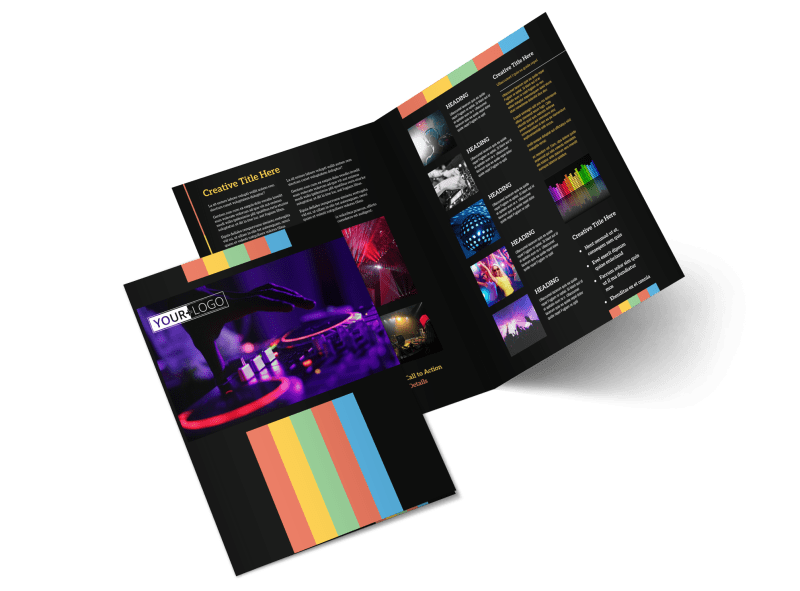 Go DJ Brochure Template Preview 1