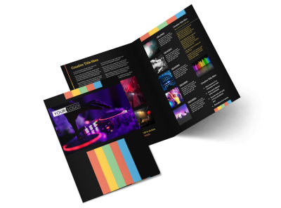 Go DJ Bi-Fold Brochure Template 2 preview