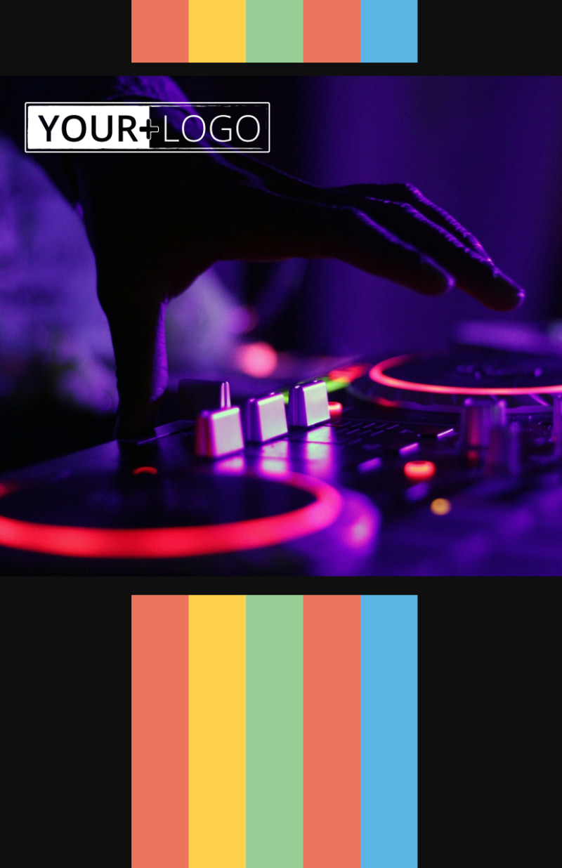 Go DJ Flyer Template Preview 2