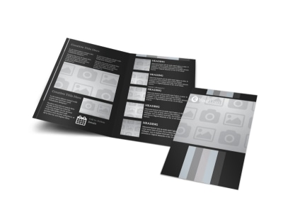 Generic Bi-Fold Brochure Template 3027