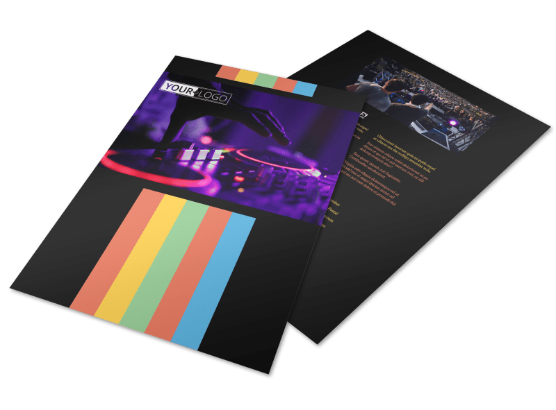 Go DJ Flyer Template Preview 1