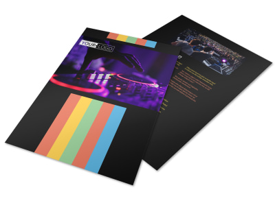 Go DJ Flyer Template