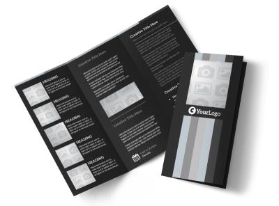 Generic Tri-Fold Brochure Template 3029
