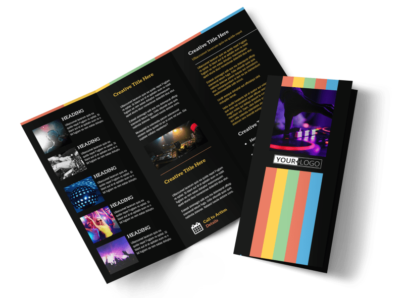 Go DJ Brochure Template Preview 1