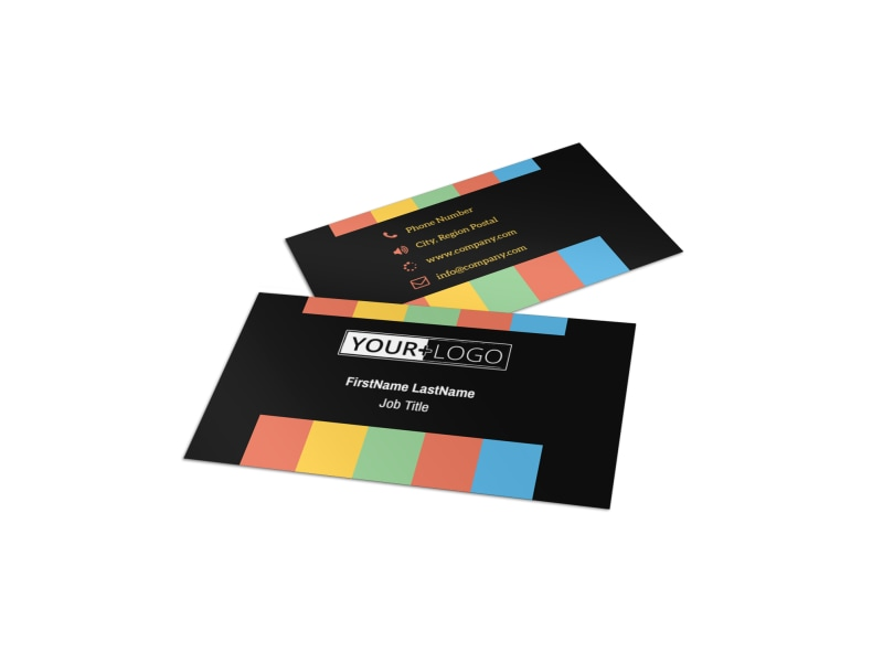 Go DJ Business Card Template MyCreativeShop - Dj business card template