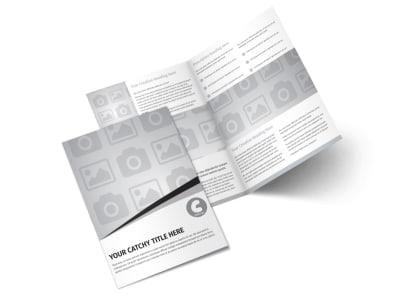 Generic Bi-Fold Brochure Template 3032
