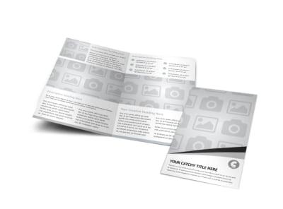 Generic Bi-Fold Brochure Template 3036