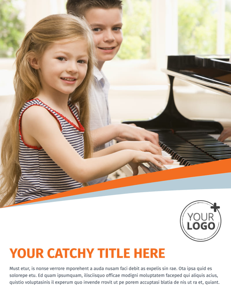Your Music Lessons Flyer Template Preview 2