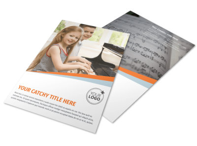 Your Music Lessons Flyer Template