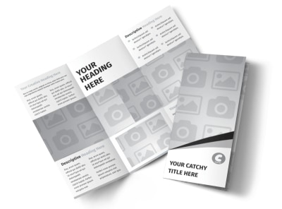 Generic Tri-Fold Brochure Template 3038