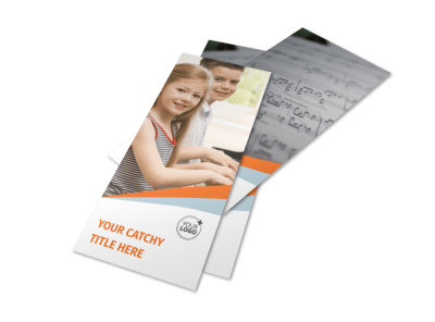 Your Music Lessons Flyer Template 2
