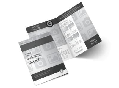 Generic Bi-Fold Brochure Template 3041