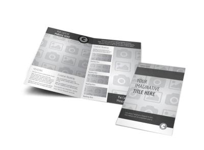 Generic Bi-Fold Brochure Template 3045