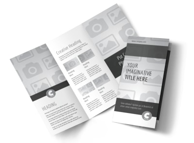 Generic Tri-Fold Brochure Template 3047