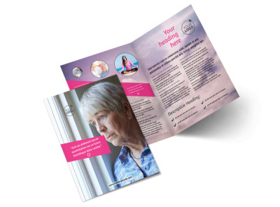 Mental Health Bi-Fold Brochure Template 2