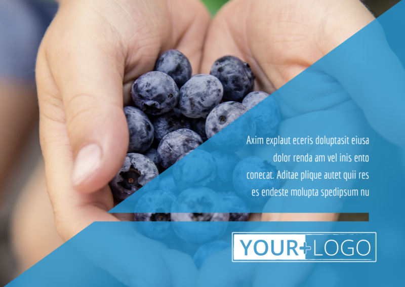 Health Nutrition Postcard Template Preview 2