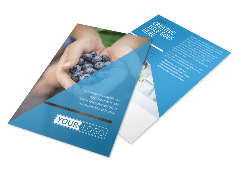 Health Nutrition Flyer Template 3