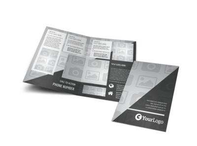 Generic Bi-Fold Brochure Template 3063