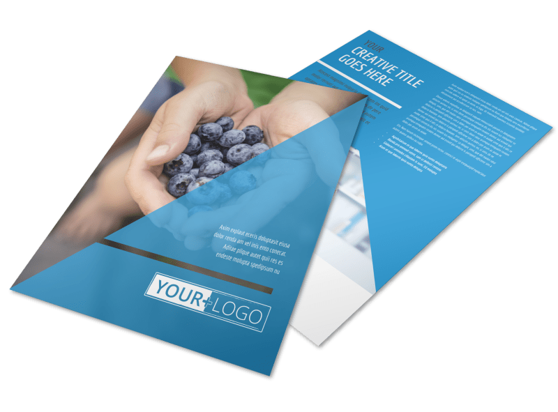 Health Nutrition Flyer Template Preview 1