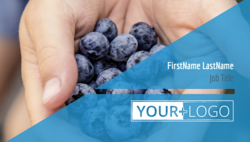 Health Nutrition Business Card Template Preview 2