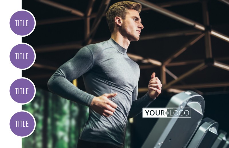 Fitness Gym Postcard Template Preview 2