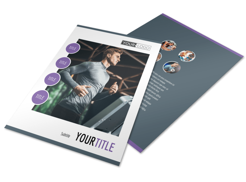 Fitness Gym Flyer Template Preview 1