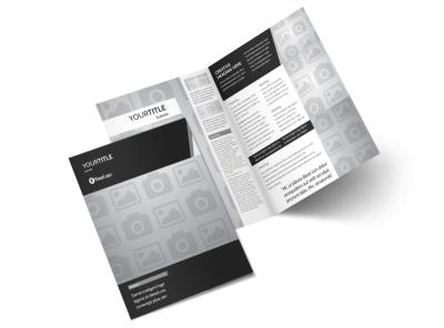 Generic Bi-Fold Brochure Template 3077