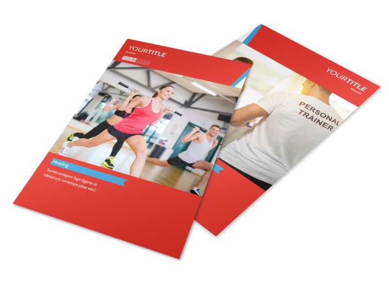 Health & Fitness Center Flyer Template 3