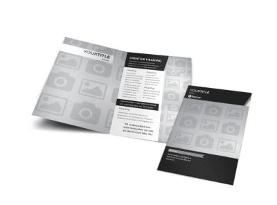 Generic Bi-Fold Brochure Template 3081