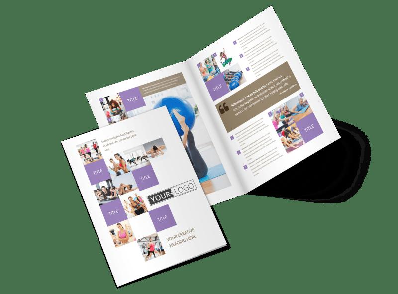 Elite Aerobics Brochure Template Preview 1