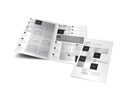 Generic Bi-Fold Brochure Template 3090 preview