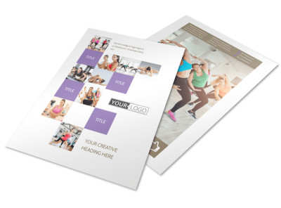 Elite Aerobics Flyer Template