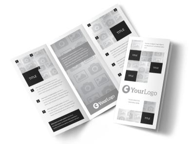 Generic Tri-Fold Brochure Template 3092 preview
