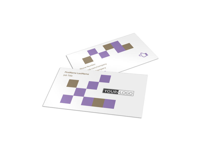 Elite Aerobics Business Card Template Preview 1