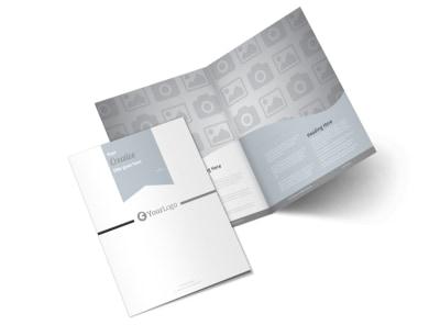 Generic Bi-Fold Brochure Template 3095