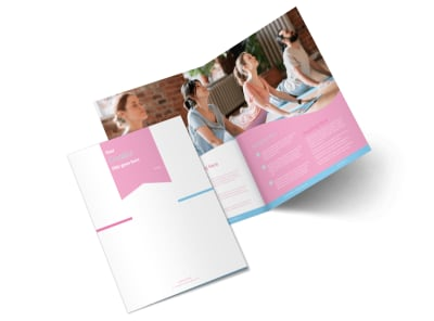 Core Yoga Bi-Fold Brochure Template 2