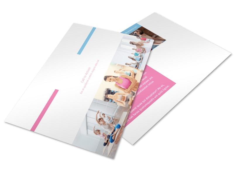 Core Yoga Postcard Template 2