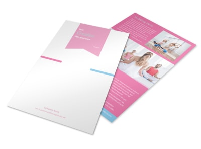 Core Yoga Flyer Template 3