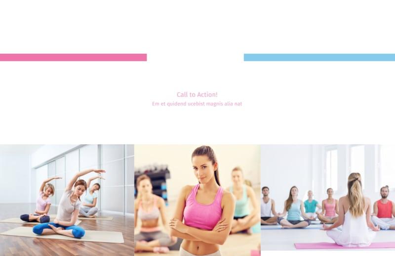 Core Yoga Postcard Template Preview 2