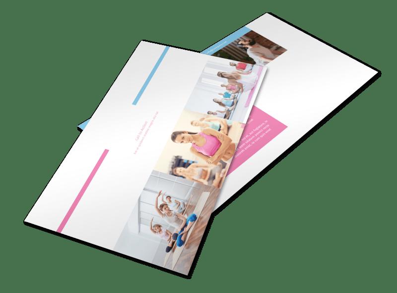 Core Yoga Postcard Template Preview 1