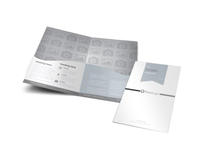 Generic Bi-Fold Brochure Template 3099
