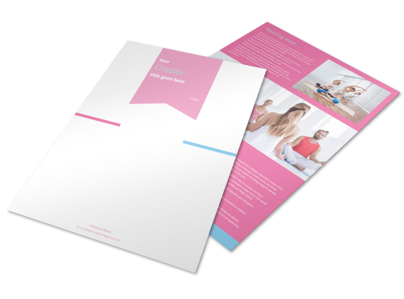 Core Yoga Flyer Template Preview 1