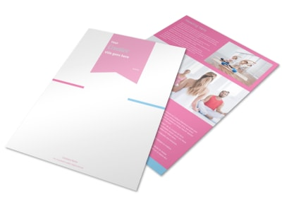 Core Yoga Flyer Template preview