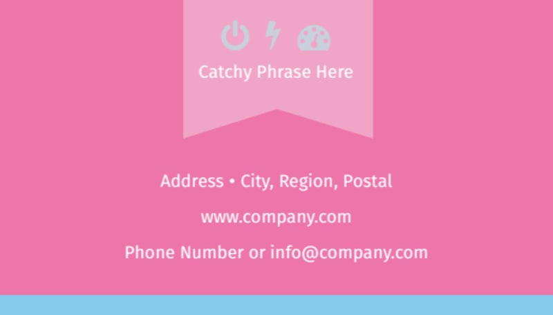 Core Yoga Business Card Template Preview 3