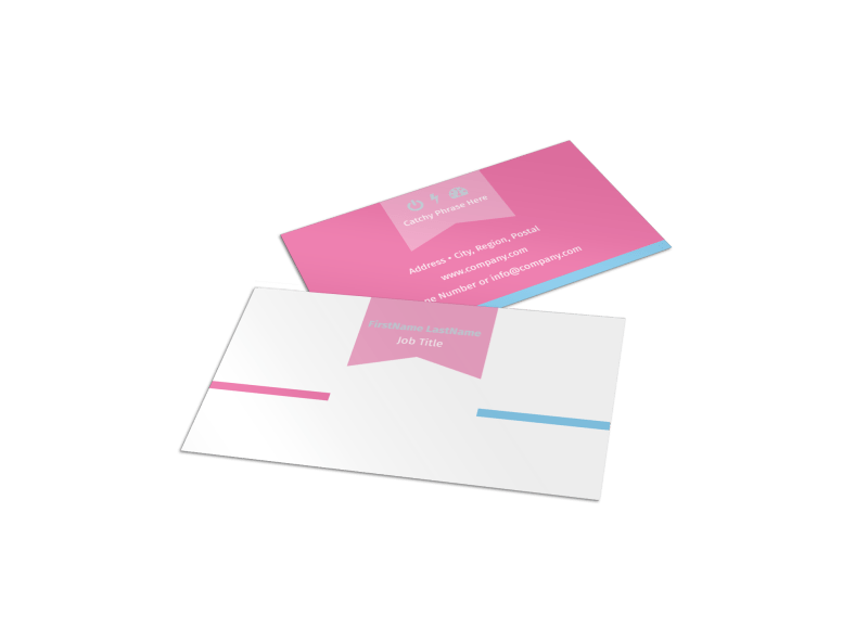 Core Yoga Business Card Template Preview 1