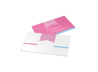Core Yoga Business Card Template preview