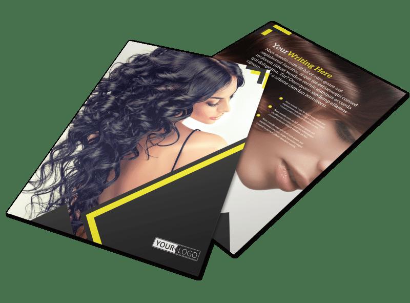 Hair Salon Studio Flyer Template Preview 1